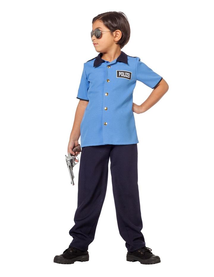 Polizei Hose Blau