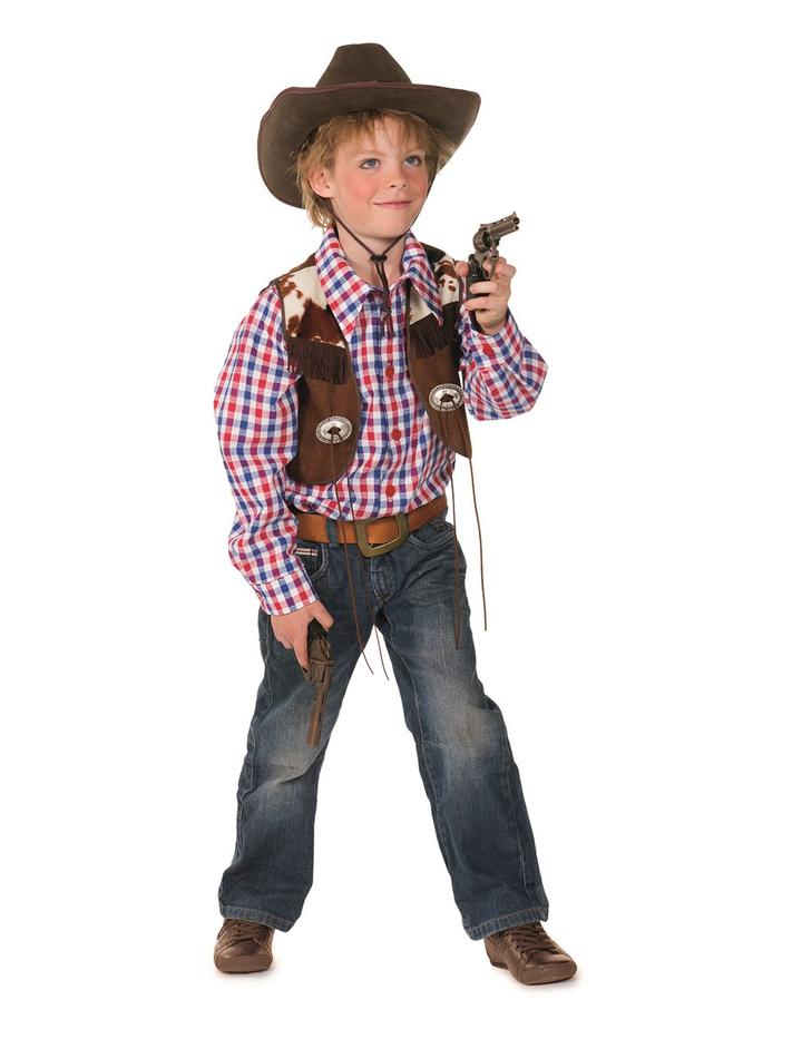 cowboy kost m blau rot braun 104 kost me fashion lif 31 90. Black Bedroom Furniture Sets. Home Design Ideas