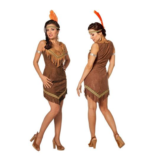 Indianerin Kostum Braun 36 Keijo24 De Kostume Fashion
