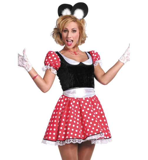 Micky maus kostüm damen