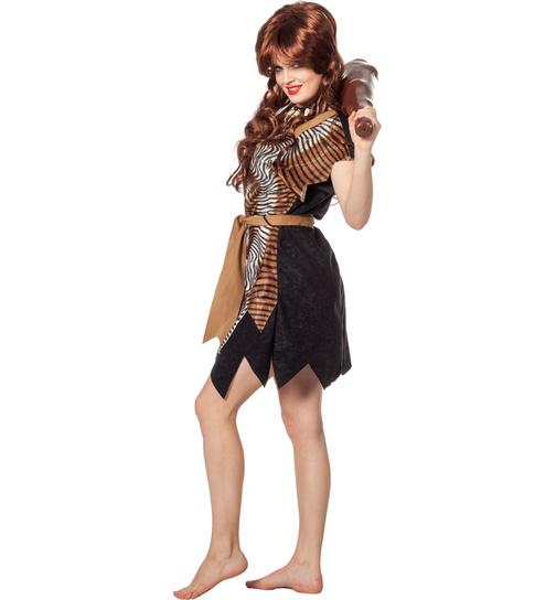 Kostüm Neandertaler 50 52 54 56 Ur-Zeit Herren Höhlenmensch Steinzeit Eiszeit