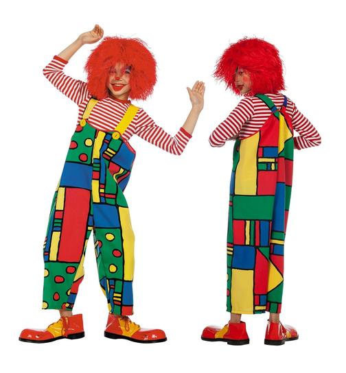 clown kost m f r kinder in bunt. Black Bedroom Furniture Sets. Home Design Ideas