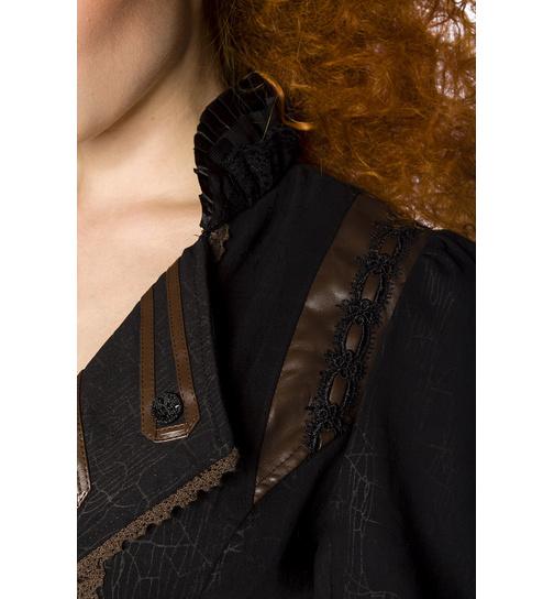 Steampunk mantel braun