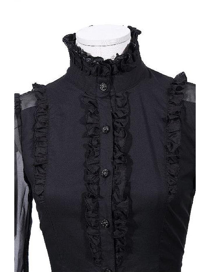 bluse mit jabot 66 90 kost me fashion. Black Bedroom Furniture Sets. Home Design Ideas