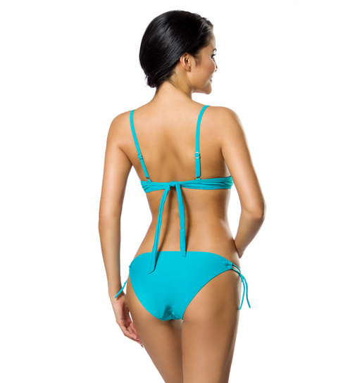 Push Up Bikini Set Türkis M