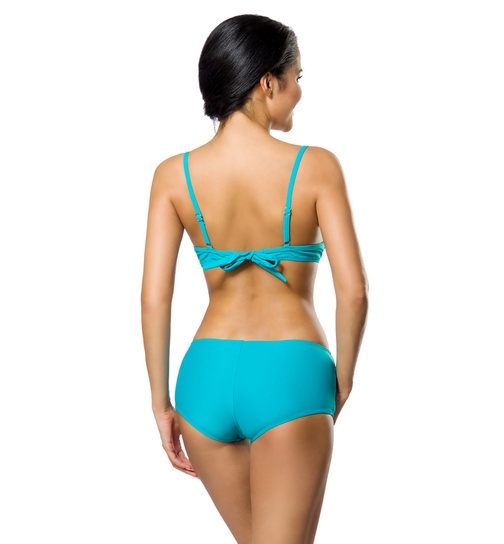 Push Up Bikini Set Türkis L