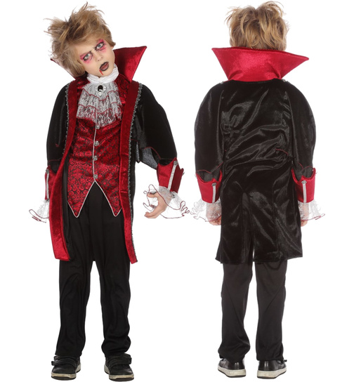 Vampir Kostum Vampirkostum Graf Dracula Halloween Gothic