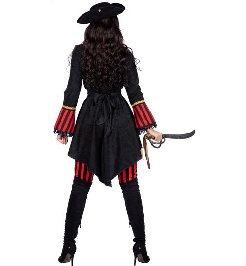 Pirat Seerauber Piratin Kapitanin Freibeuter Piraten Kostum Noble